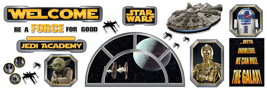 Eureka Star Wars Welcome to The Galaxy Bulletin Board Sets (847543)