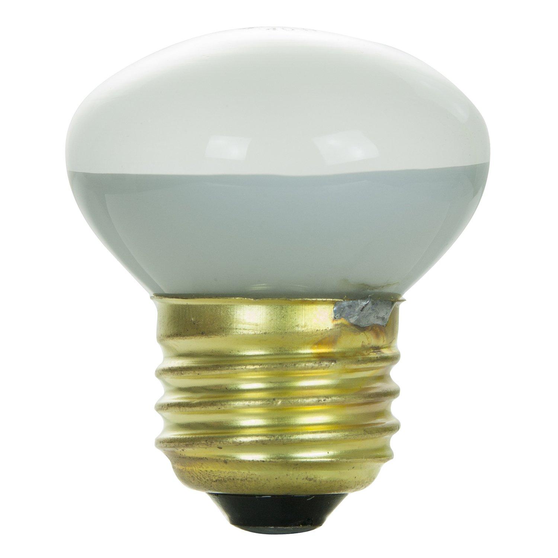 Medium Based R14 Reflector Bulb Frost Sunshine Lighting Sunlite 40R14//FL Incandescent 40-Watt