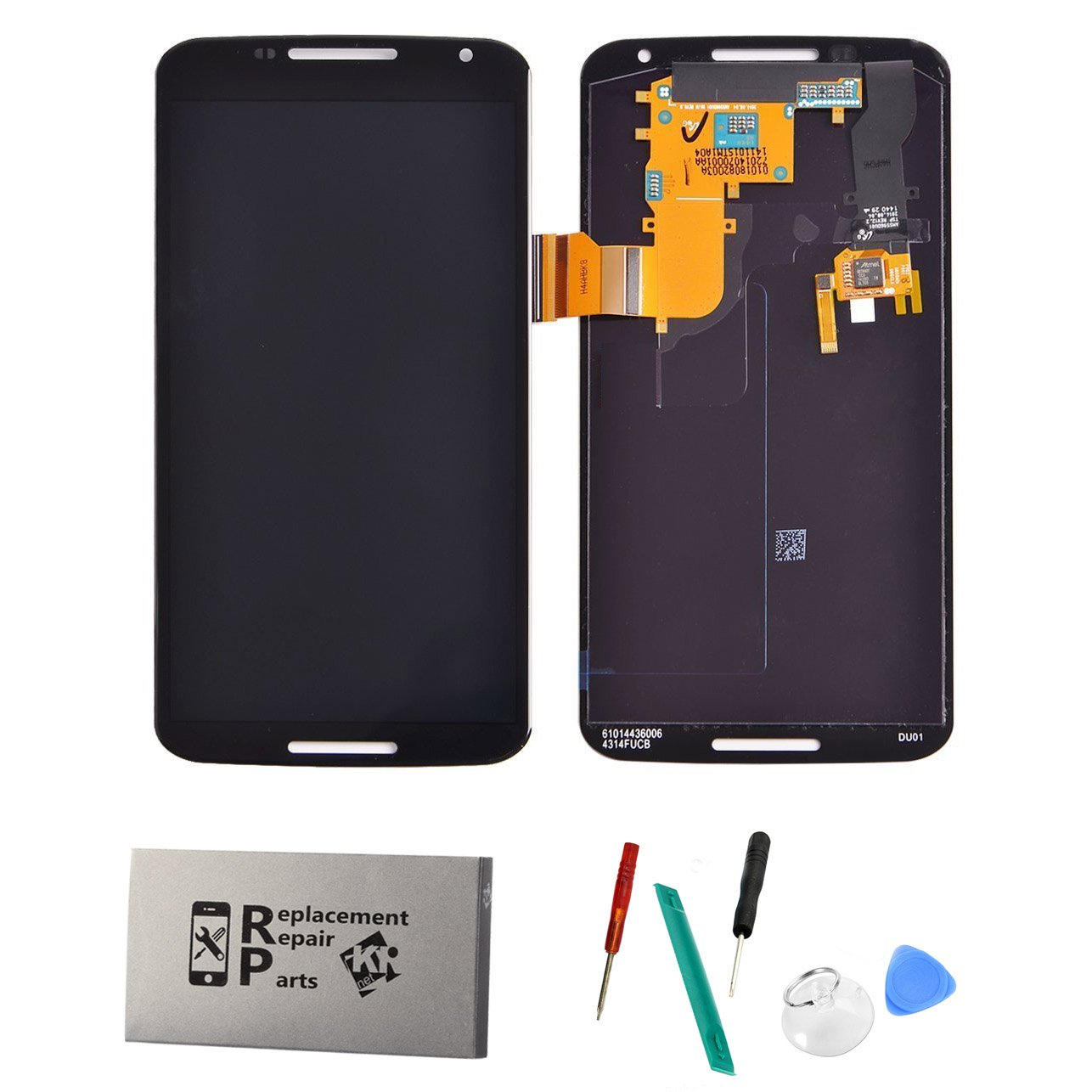 For Motorola Google Nexus 6 XT1100 XT1103 Touch Screen Digitizer LCD Display Full Assembly by WOVSTORE
