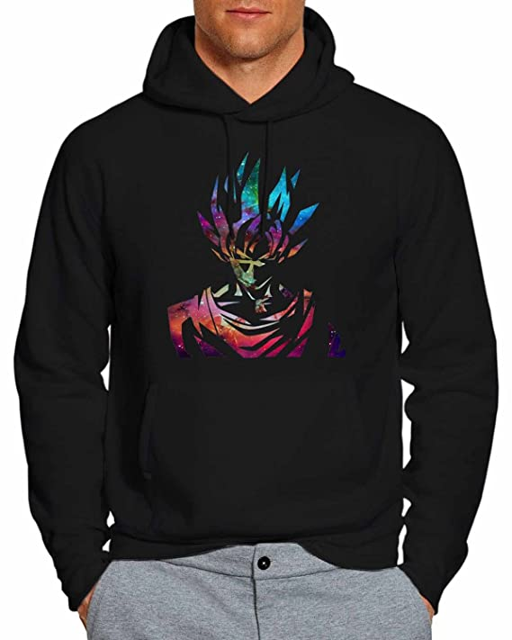 Dragon Ball Z Goku Galaxy Nebula Hoodie Pullover Unisex Sweatshirt ...