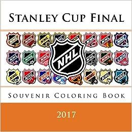 Amazon.com: Stanley Cup Final 2017: Souvenir NHL coloring ...