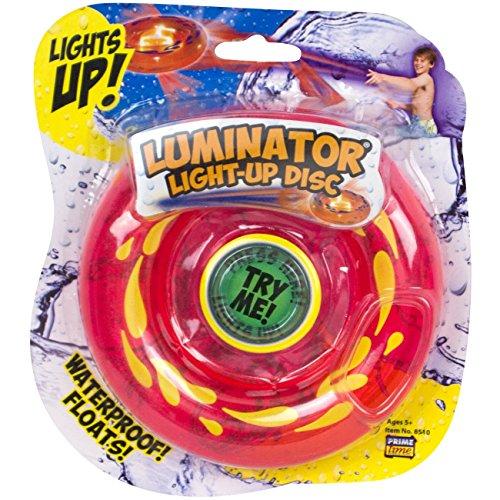 Prime Time Toys Luminator Light-up Splash Disc Flying Toy