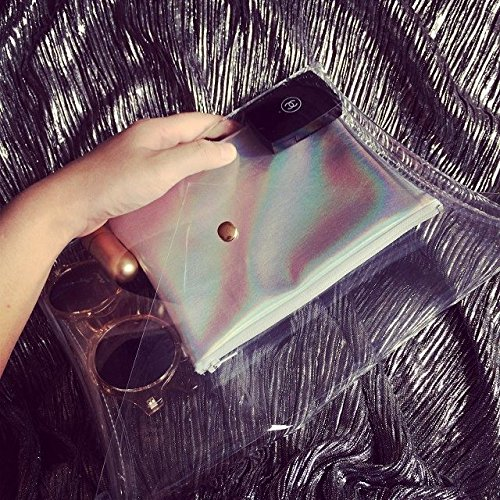 Bolso de PVC transparente Zarapack bolso de mano para mujer