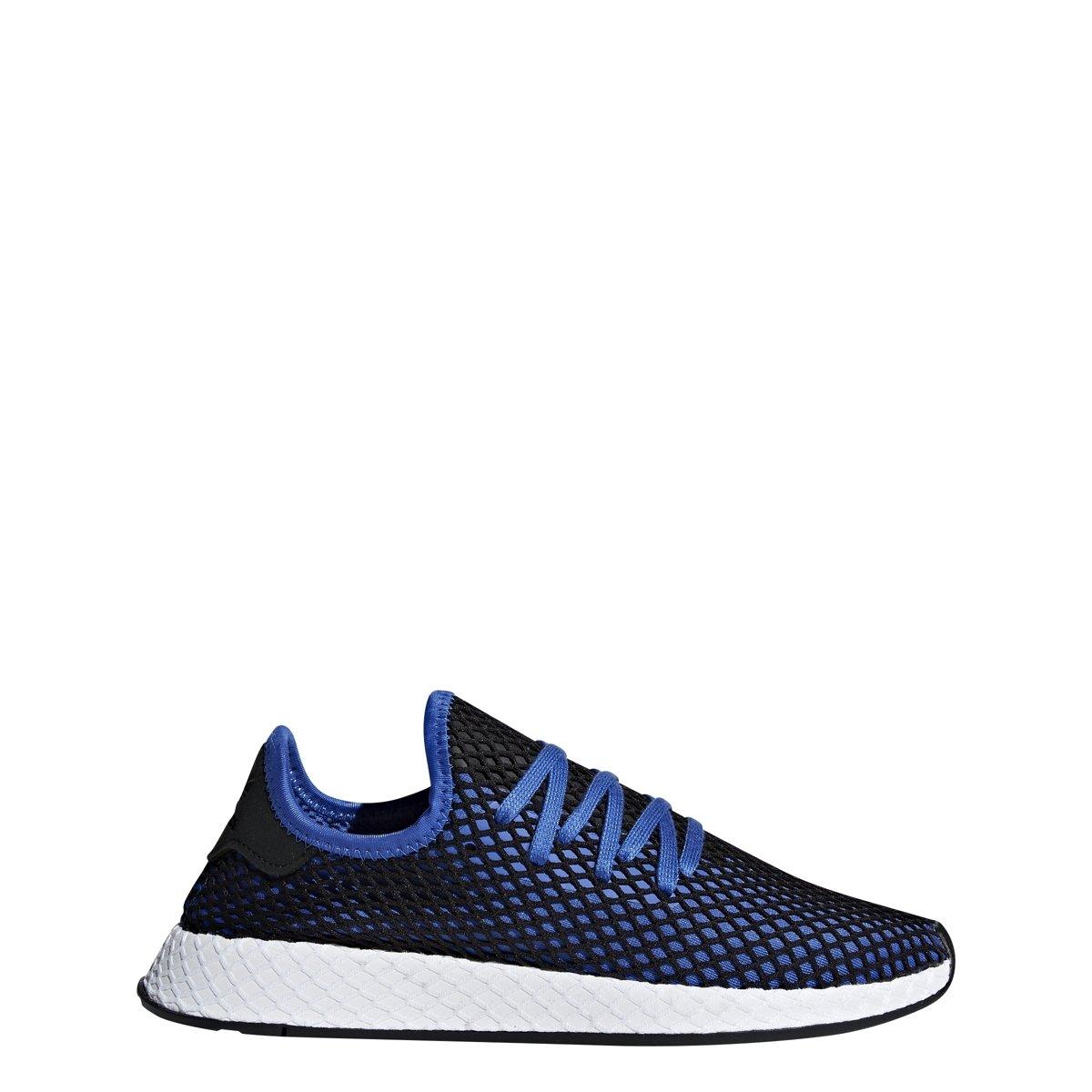 adidas Originals Deerupt Runner Shoe Men's Casual 8.5 Hi Res Blue-Black