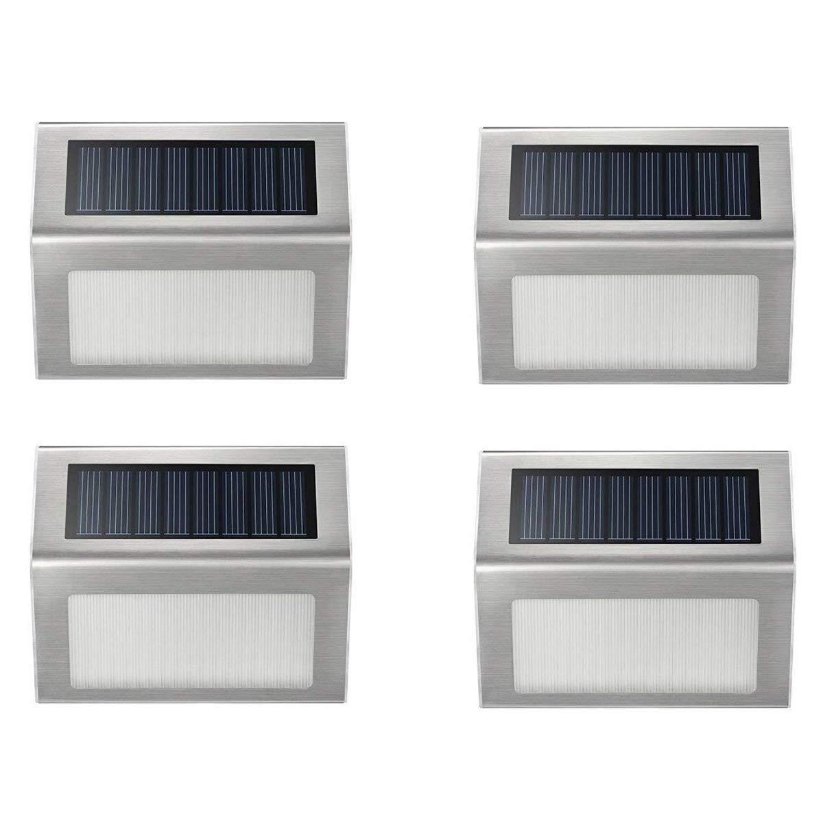 Hoont Pack LED Solar Step Light