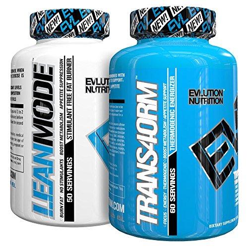 Evlution Nutrition Trans4ormation Mode Stack, Lean Mode Non-Stim