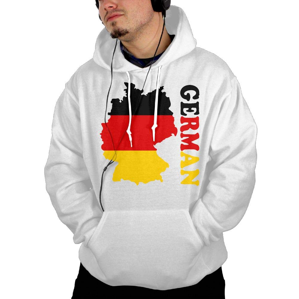 German Flag Map Mens Hoody New\r\n Coat with Kanga Pocket