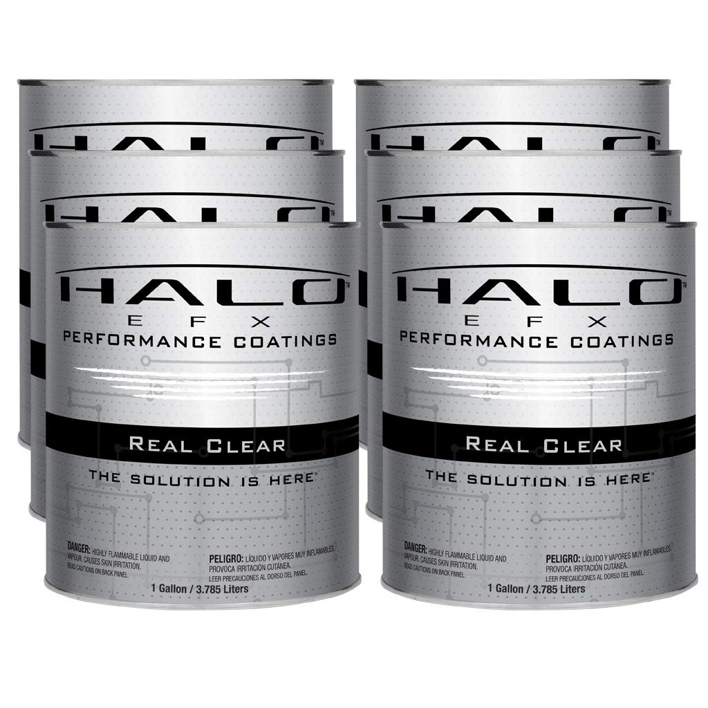Halo EFX Real Clear - Reversible/Peelable/Durable