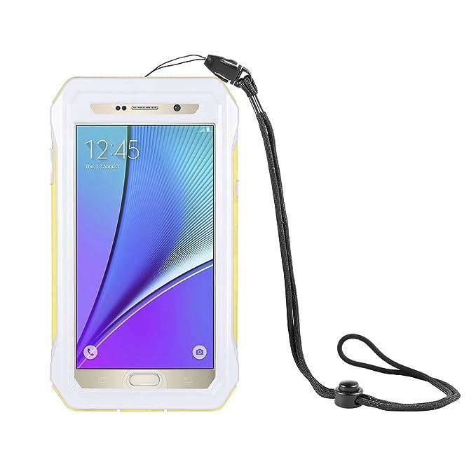 official photos cc4aa d42cb Amazon.com: Samsung Galaxy Note 5 Waterproof Case, Lifeepro Case ...