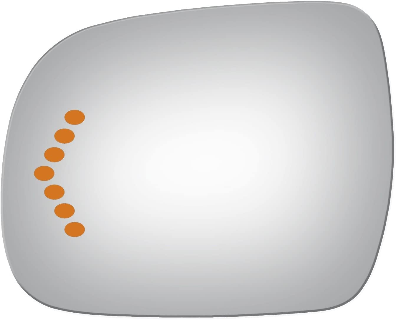 Mirrex 73794S Fits Driver Left Side Replacement for Toyota Sienna Mirror Glass Signal 2006 2007 2008 2009 2010