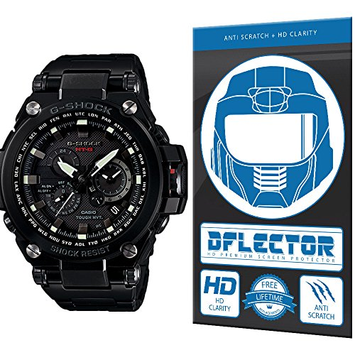 DFlectorshield Premium Scratch Resistant Screen Protector for the G-Shock MT-G 2015 - Mt Watches