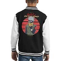Cloud City 7 Read To Be Stronger Kakashi Hatake Naruto Kid's Varsity Jacket