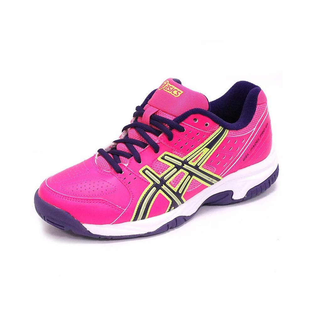 Asics Gel-Padel Pro 2Gs Rosa/Morado Amarillo Flash
