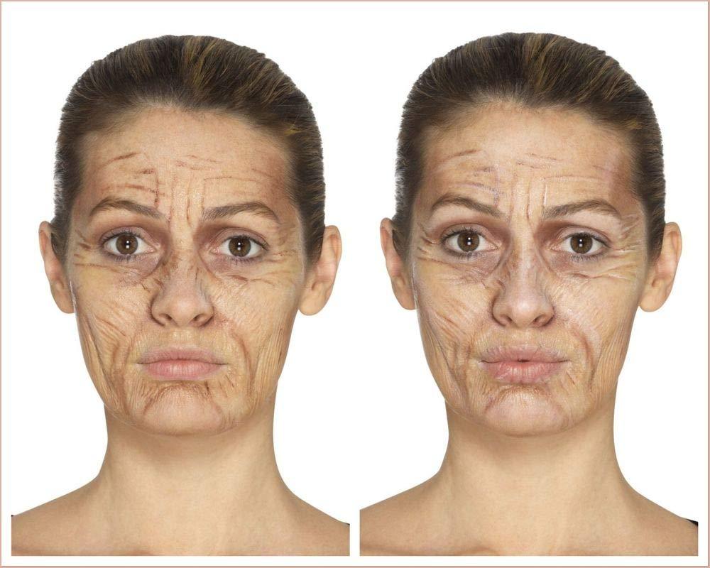 Shoperama Professionelles 4 Teiliges Schminkset Oma Opa Make Up