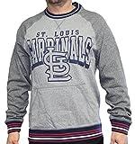 "St. Louis Cardinals Mitchell & Ness MLB ""Broad Street"" Men's Crew Sweatshirt"