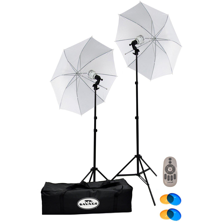 Savage 500 Watt LED Studio Light Kit by Savage