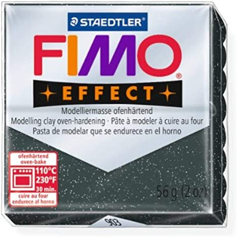 Staedtler Fimo Effect Star Dust 903 Polymer Modelling Clay Oven Bake 56g