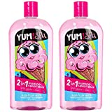Yum Spa, 2in1 Shampoo & Conditioner, Tutti-Fruitti Scent, 16 oz, Pack of 2