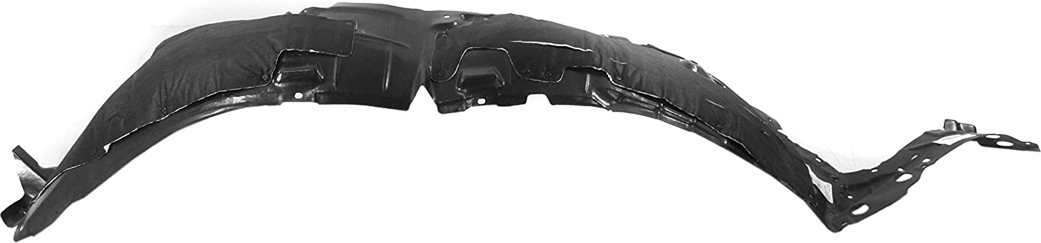 Fender Liner Compatible with 2016-2018 Nissan Maxima Plastic Front Passenger Side