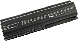 9 Cells 484171-001 484172-001 536436-001 HSTNN-CB72 HSTNN-UB72 Battery for Hp Spare Replace Battery, fits HP Pavilion DV4-1000, DV4-1225DX, DV5-1002TX, DV6-2150US, G50 G60 G61 G70 G71
