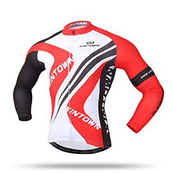 22e089e1d Pinjeer Modern Simple 3D Printing Men s Cycling Jersey 100% Polyester Clothing  Quick Dry Spring Autumn