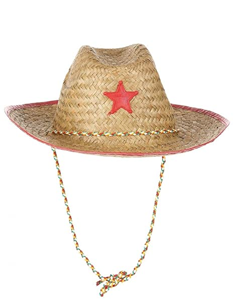 MM Spezial Sombrero de cowboy para niño; accesorio de disfraces, modelo Espa 50 _