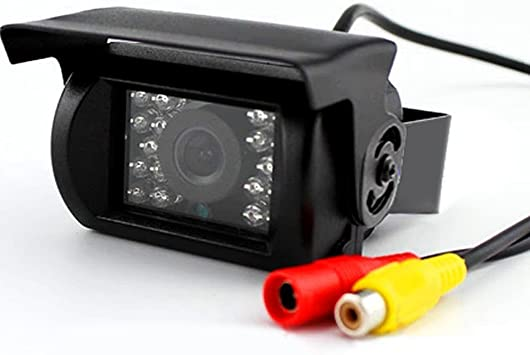 18 LED IR Night Vision Car Rear View Camera RCA Video Cable Detection Cable