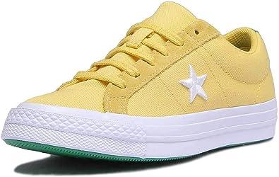 Converse Men's One Star, Yellow/White