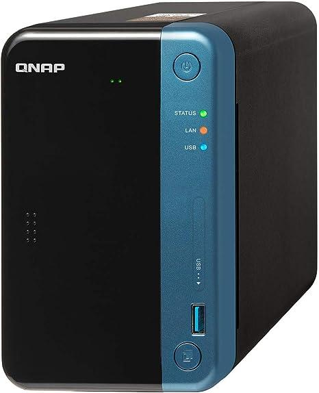 QNAP TS-253Be NAS Ethernet Negro - Unidad Raid (Unidad de Disco ...