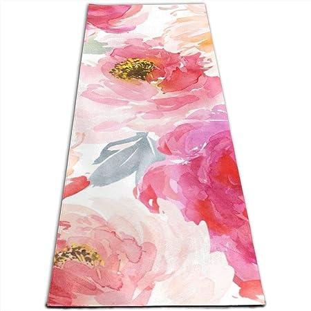 IconSymbol Juniper Floral Blooms Yoga Design Foldable ...