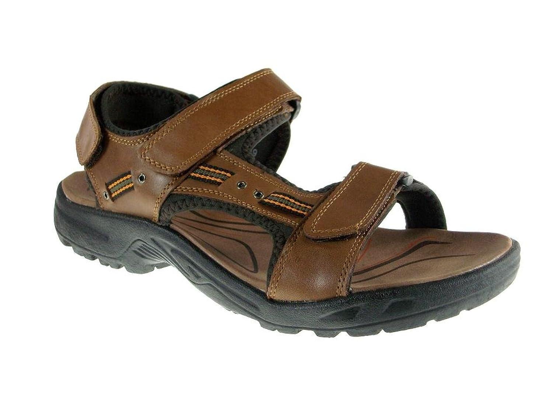 Rocus Men's P3003 Leather Sports Sandals