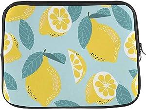INTERESTPRINT Laptop Carrying Bag Lemons Citrus Fruit Notebook Sleeve Case Cover 13 Inch 13.3 Inch