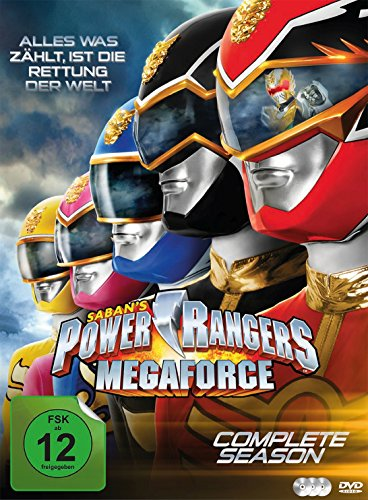 power rangers megaforce season - 4