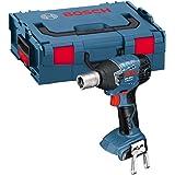 Bosch Professional 06019A1S06 Atornillador de Impacto a batería, 18 W, 18 V, Negro, Azul, Rojo, Plata