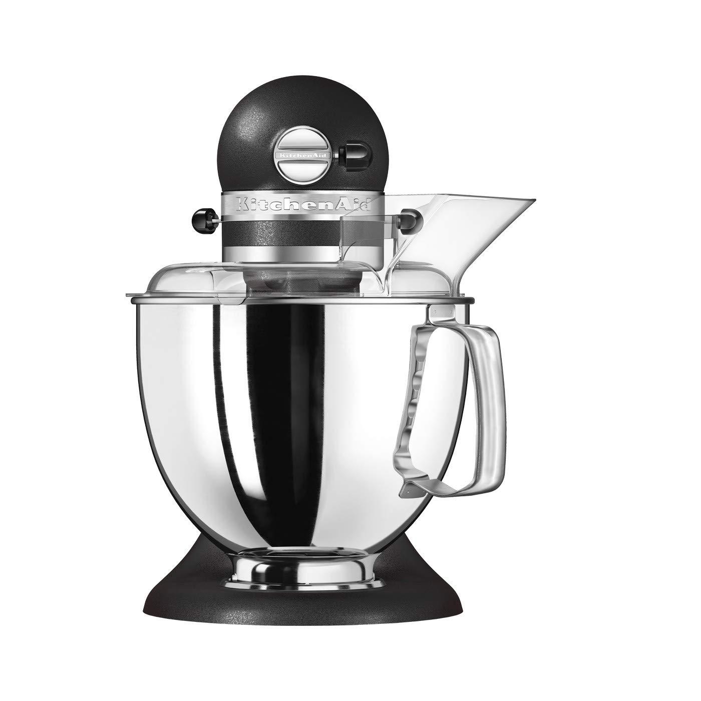 KitchenAid ARTISAN 5KSM175PSEBK- Batidora de cocina con equipamiento profesional, hierro fundido, color negro: Amazon.es: Hogar