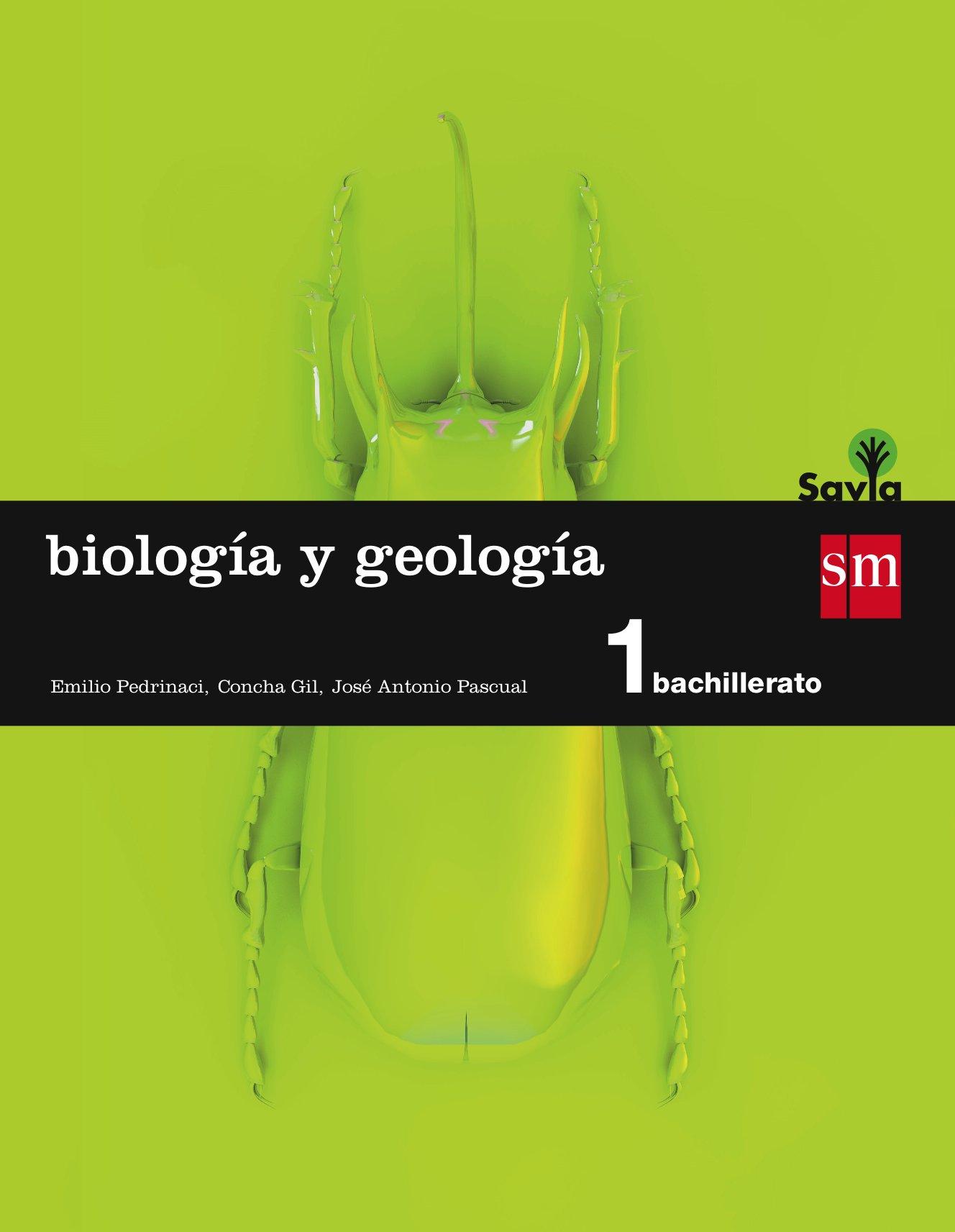 Biología y geología. 1 Bachillerato. Savia - 9788467576528: Amazon ...