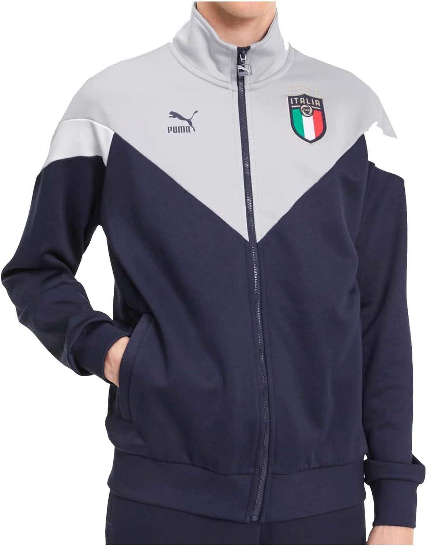 seco ensillar sábado  Amazon.com : PUMA 2019-2020 Italy Iconic MCS Track Jacket (Peacot) : Sports  & Outdoors
