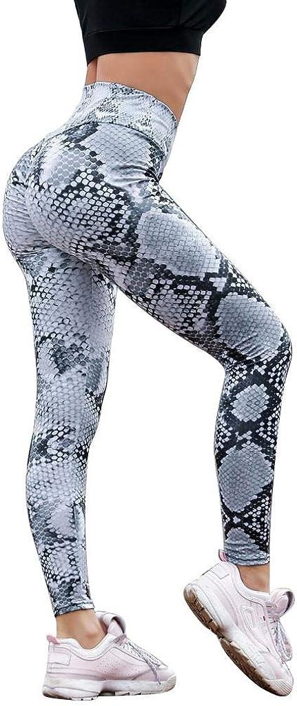 Leggings Mujer Fitness 2020 SHOBDW Cintura Alta Serpentine Leggings Serpentine Legging Yoga Mujer Malla Cuero Leggins Pantalones Chandal Mujer Leggins Mujer Push Up