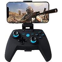 Maegoo Mando PC Windows, Bluetooth Inalámbrico Móvil Android Mando con Soporte Retráctil, 2.4g Inalámbrico PC/PS3/TV…