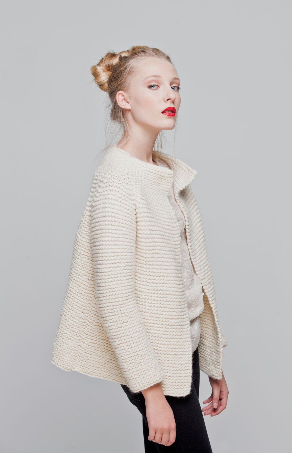 We are Knitters - Intermediate Level Knitting Kit - Martina Cardigan by We Are Knitters (Image #3)