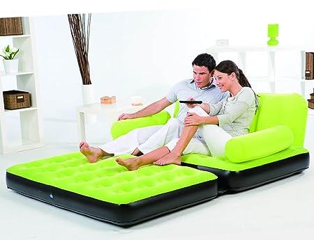 Globatek - Sofá cama hinchable: Amazon.es: Hogar
