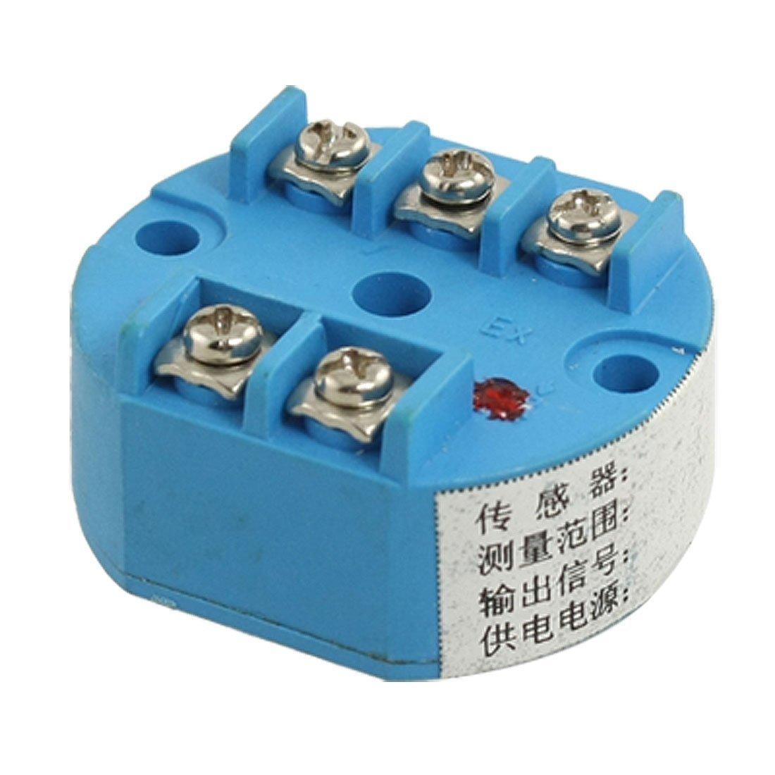 eDealMax a11122700ux0028 PT100 Temperatura uscita Trasmettitore Sensore 0-100C 4-20mA