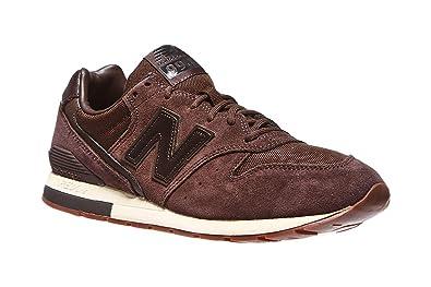 new balance 996 hombres marrón