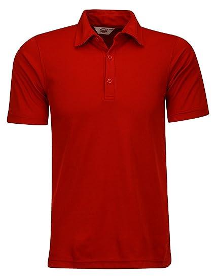 Playera Dacache Caballero color Rojo POLO Dry FIT hombre Ejecutivo Oficina  Uniforme Empresarial 5a6a04814320d