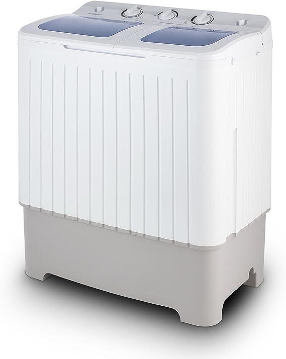 Oneconcept Ecowash XXL - Lavadora Capacidad 6.8 kg, Centrifugadora ...