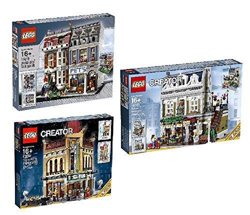 LEGO LEGO LEGO Bundle Creator Pet Shop 10218 Creator 10232 Palace Cinema Creator Expert 10243 Parisian Restaurant by 9e7ffb