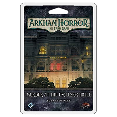Fantasy Flight Games Arkham Horror LCG: Murder at The Excelsior Hotel: Toys & Games