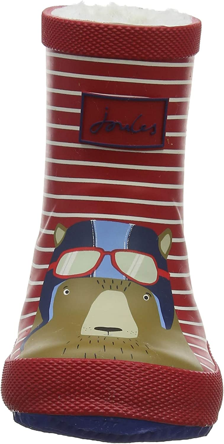 Joules Baby Boys Welly Print Boots