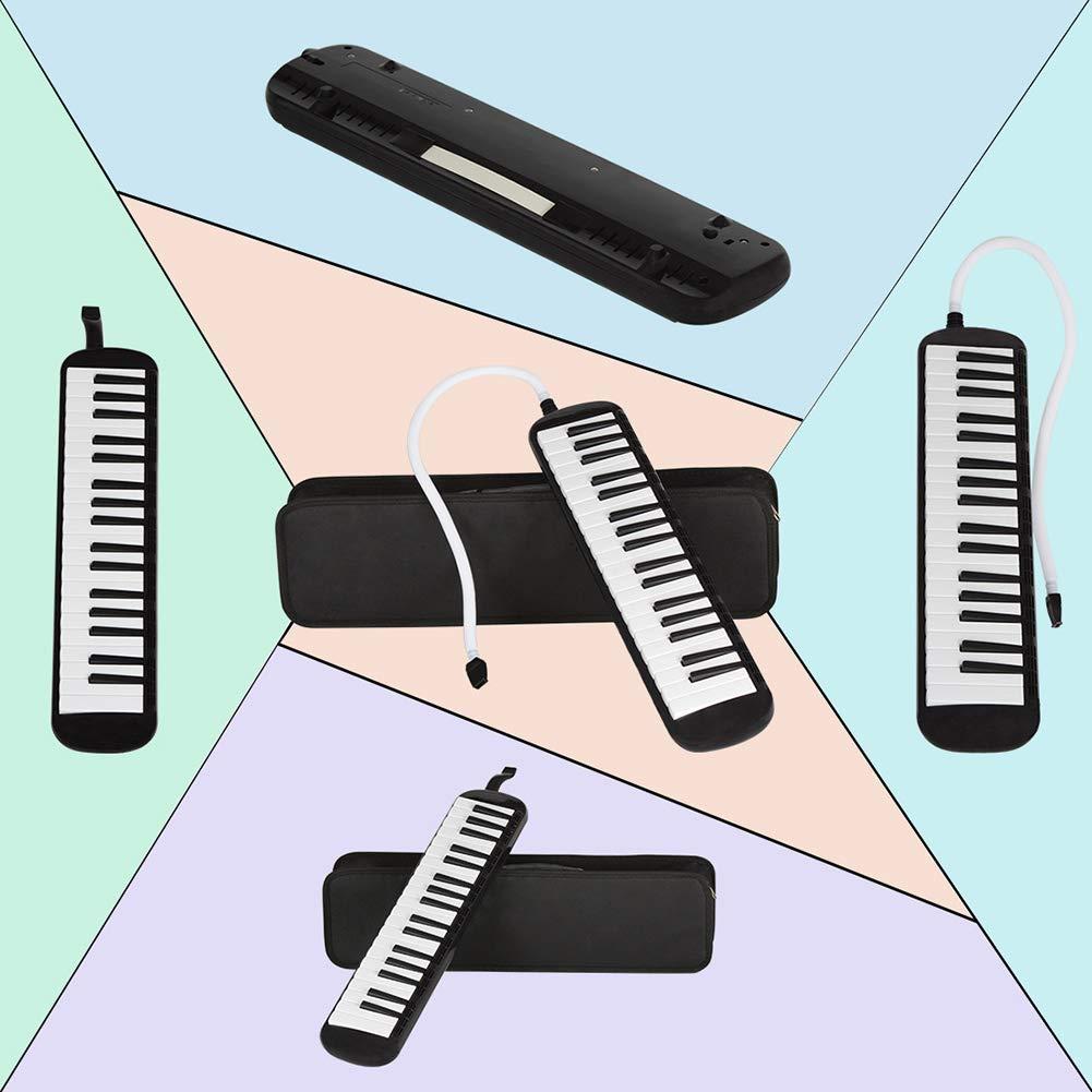 heaven2017 37 Key Melodica Kids Mouthpiece Tube Piano Keyboard Instrument Green by heaven2017 (Image #2)