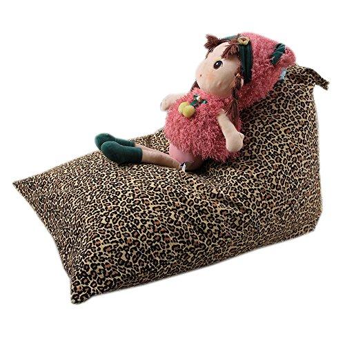 Cinhent Bag 1PC Kids Stuffed Animal Plush Toy Storage Bean Bag,Sand Bags Pouch Stripe Fabric Chair,Handle Home Storage,Double Zipper + Stitch, Seriously Super Soft (G) by Cinhent Bag